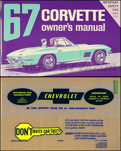 what is the best auto repair manual 1967 ford country user handbook 1967 corvette sting ray owner s manual package reprint 67