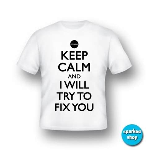 Kaos Coldplay Fix You Tshirt Coldplay Band 1 coldplay t shirt fix you s m l chris martin tour ebay my style shirts