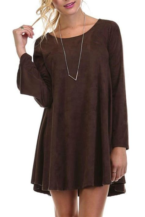 Swedy Tunik tres bien faux suede tunic from new orleans by s boutique shoptiques
