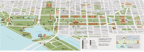 washington dc map national mall maps national mall and memorial parks u s national