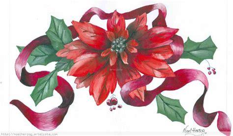 imagenes de flores navideñas flor navide 241 a noel herzog artelista com