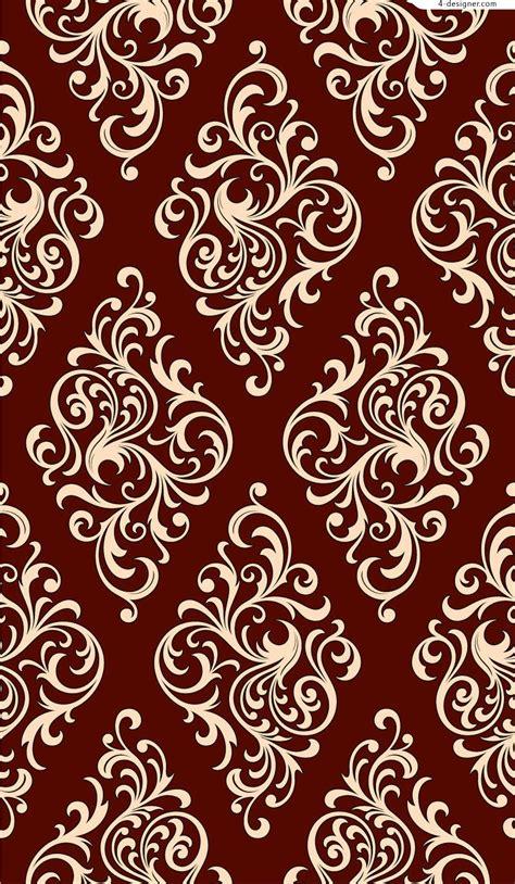 design pattern is 4 designer continental decorative pattern design vector