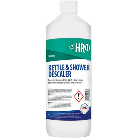 Shower Cleaner Descaler by New Hr11 Kettle And Shower Descaler Launched Arrow Solutions
