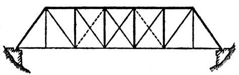 clipart etc bridge platt truss clipart etc