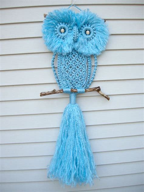 Macrame Crochet Patterns - wonderful diy macrame owls