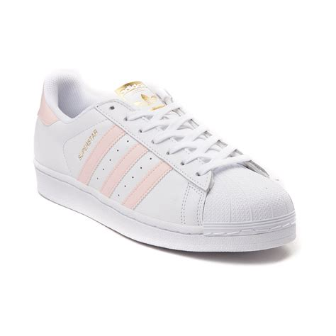 Adidas White Superstar womens adidas superstar athletic shoe white 436411