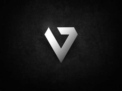 30个钻石标志设计(3) V And S Logo Design