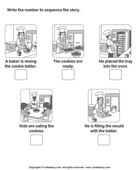sequencing steps in a process worksheets picture sequence worksheet 1 secuencias pictures and worksheets