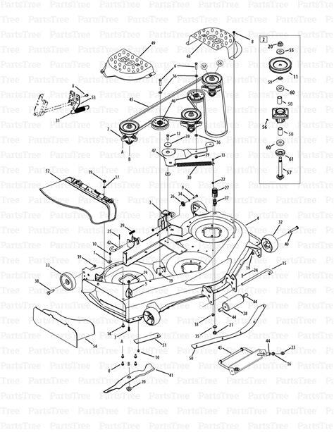cub cadet lawn mower parts diagrams cub cadet lt1050 13aq11cp009 13aq11cp010 13rq11cp056