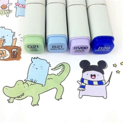 food doodle markers 199 best copic markers doodles images on
