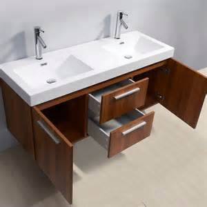 midori 54 inch sink plum bathroom vanity