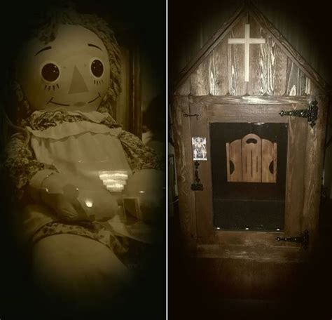 annabelle doll museum real annabelle doll to be moved tonight watch it live