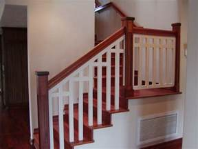 Exterior Banister Interior Wood Railings Home Exterior Design Ideas For