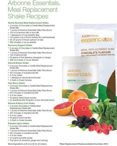 Detox Meal Replacement Shakes 25 best ideas about arbonne detox on arbonne