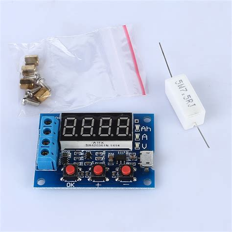 w6 battery capacity meter discharge tester 18650 li ion
