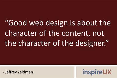 website design online quote jeffrey zeldman inspireux