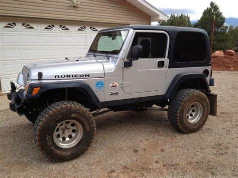 silver jeep rubicon 2 door find used 2003 jeep wrangler rubicon sport utility 2 door