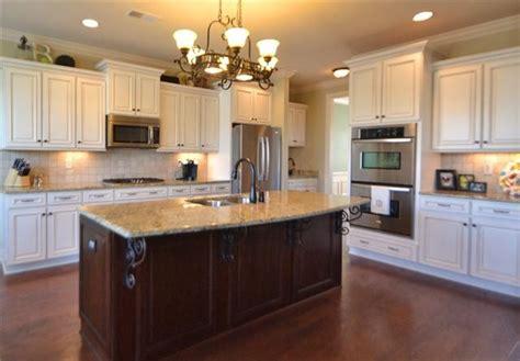 Kitchens With Islands white cabinets dark island kitchen pinterest