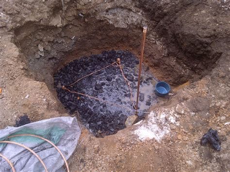 earth pit contact us for your electrical mechanical plumbing design