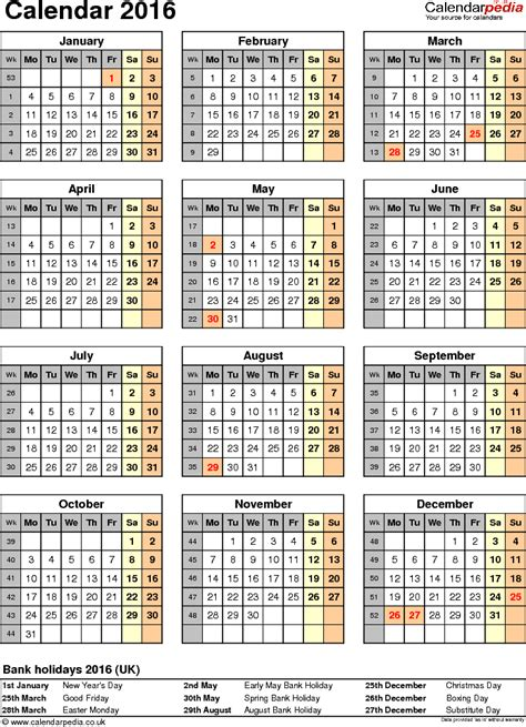 printable calendars uk 2016 calendar 2016 uk 16 free printable pdf templates