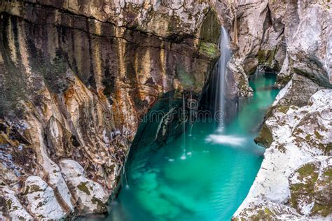 soca river falls stock photo image  water turquoise