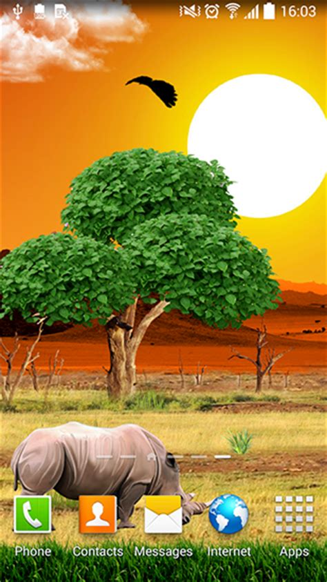 safari for android safari live wallpaper for android safari free for tablet and phone
