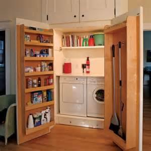 Supérieur Cacher Machine A Laver Salle De Bain #3: buanderie-cache-lave-linge-dans-placard.jpg