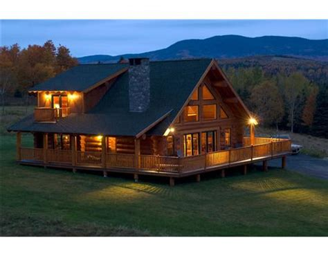 Lake Cabin Kits by Rangeley Maine Log Cabin For Sale With Saddlback Maine Views