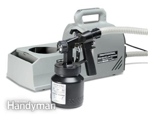 best hvlp spray gun for cabinets paint sprayer reviews the family handyman