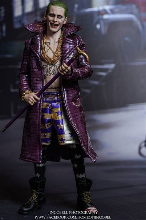 Toys Joker Squad Purple Coat toys squad the joker purple coat ver