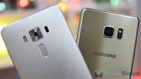 Samsung Zenfone 7 asus zenfone 3 deluxe vs samsung galaxy note 7 comparison review