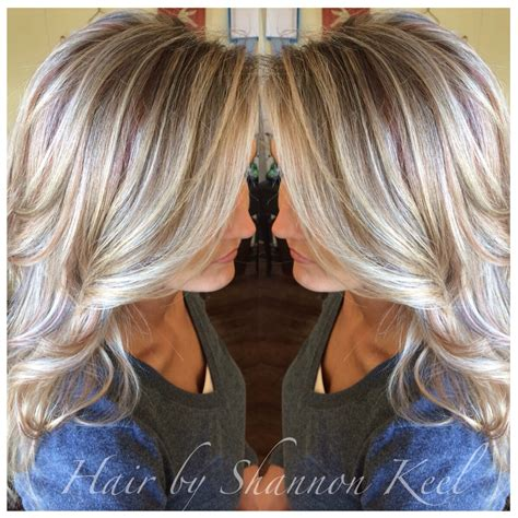 platinum blonde with lowlights platinum blonde hilights and lowlights with little pops of