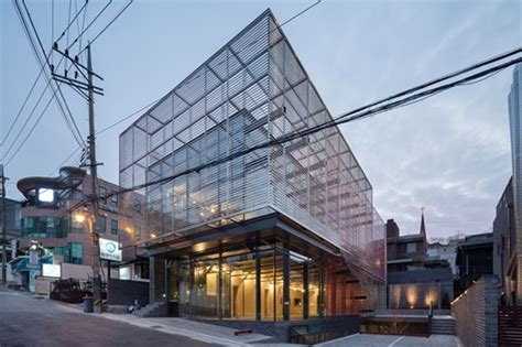 red mirror strips architect magazine