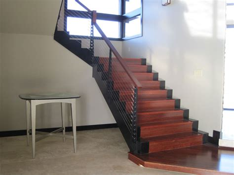 cable banister kit interior cable stair railing kits chicago style cable