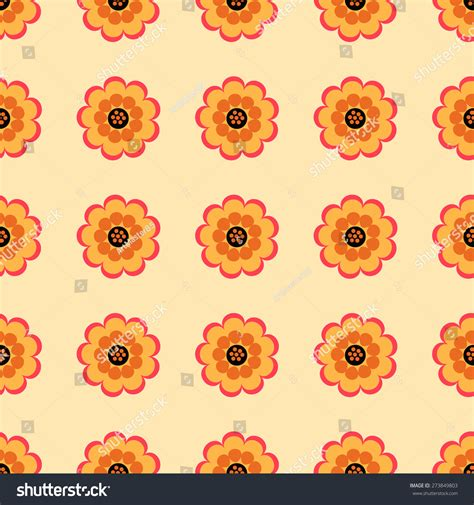 pattern heat vector seamless pattern of beautiful flowers on a light