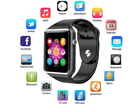 Smartwatch A1 U10 Support Simcard And Slot Memory dr smiths a1 hrgsm bluetooth smart