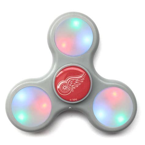 Led Fidget Spinner Spinner Led Lu Disco Edc Spiner L 1 detroit wings nhl officially licensed led light up edc fidget spinner magic matt s