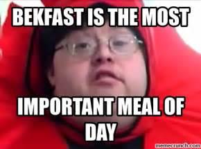 Memes Image - bekfast