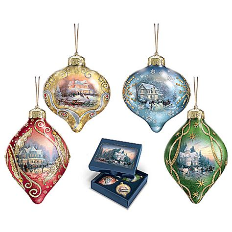 kinkade ornaments kinkade tree ornaments