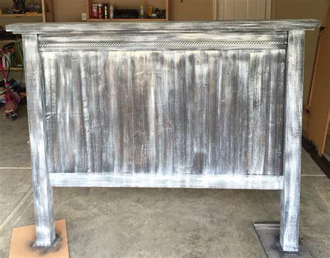 ana white pottery barn headboard  barn wood finish