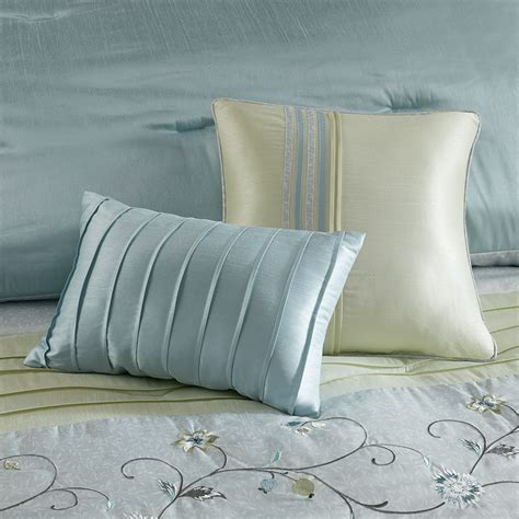 madison park serene 7 piece comforter set madison park serene comforter set