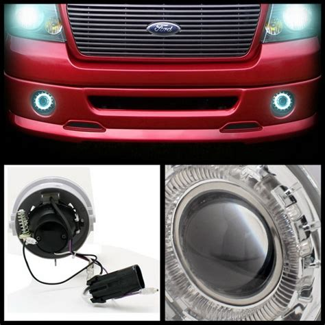 2006 Ford F150 Lights by 2006 10 Ford F150 Lincoln Lt Clear Halo Projector Fog