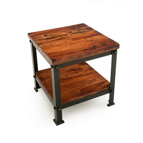 square living room tables steel traditions dillon square end table green gables