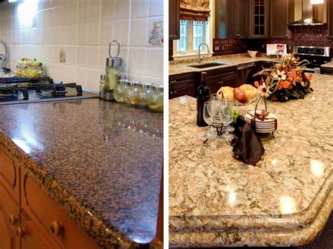 Difference Between Quartz And Granite Countertops by The Difference Between Granite And Quartz Countertops