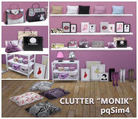 office clutter sims 4 cc monik bedroom clutter by mary jim 233 nez at pqsims4 187 sims 4