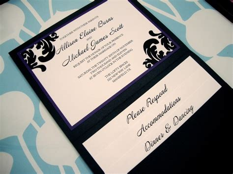 custom pocketfold wedding invitations custom pocket wedding invitations wedding ideas and wedding planning tips