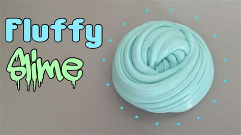 how to make fluffy slime without glue borax or any slime