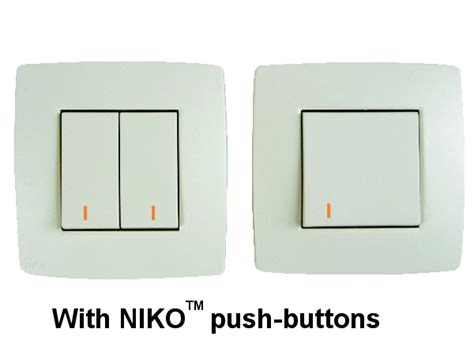 Led Niko velbus products view vmbldan set of 5