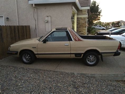 1985 subaru brat for sale 1985 subaru brat gl standard cab pickup 2 door 1 8l