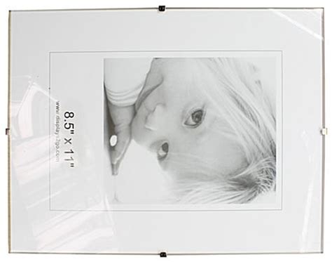 frameless 5 x 7 clip picture frame tempered glass 8 5 x 11 glass clip picture frames tempered glass